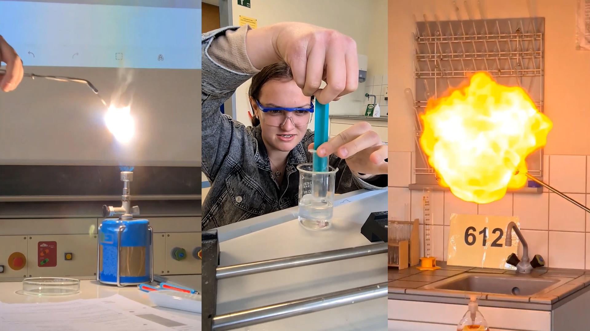 Vorschaubild Video Chemie Tag der offenen Tuer