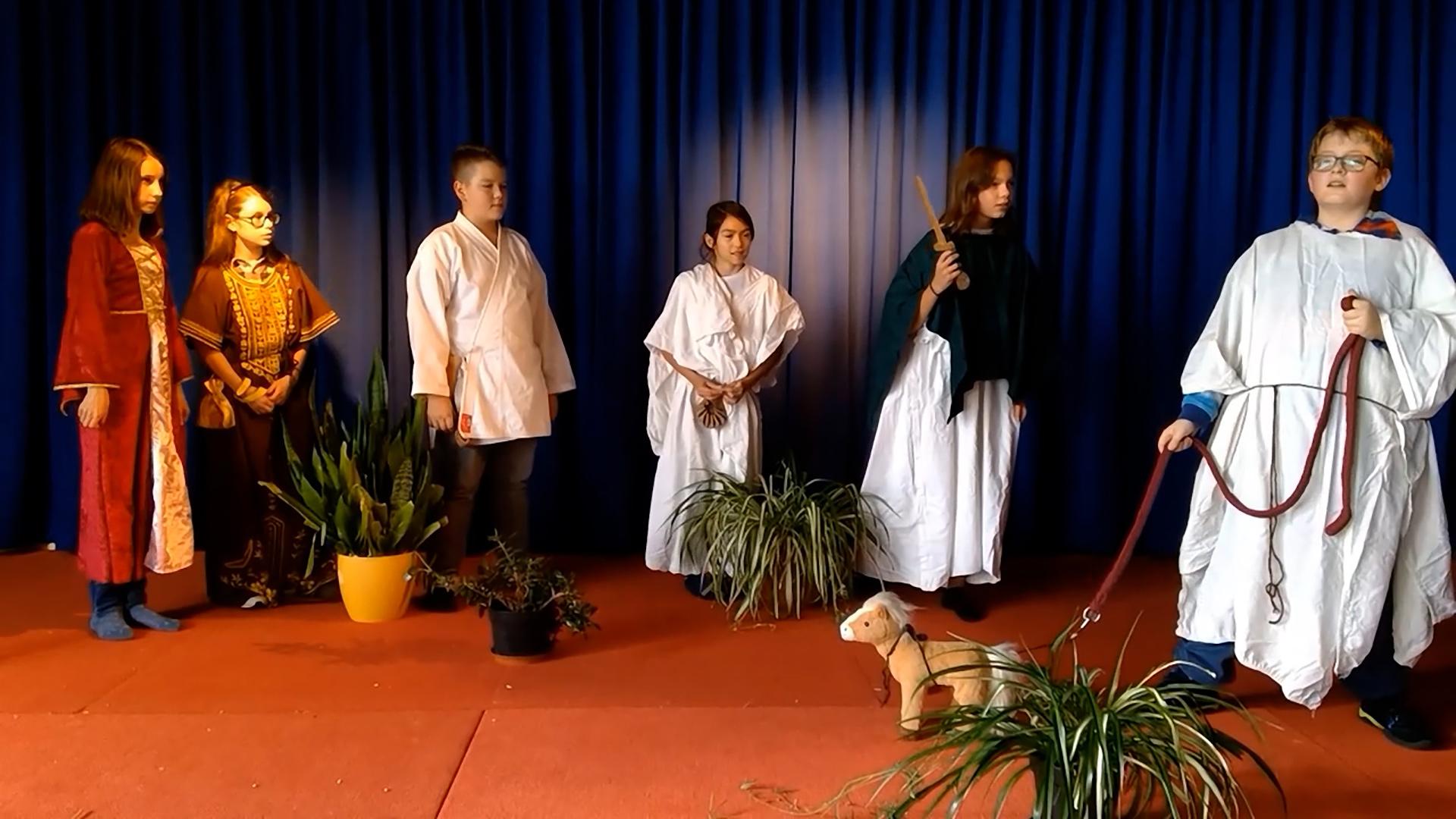 Vorschaubild Video Latein - Theaterstueck auf der Seite Tag der offenen Tuer